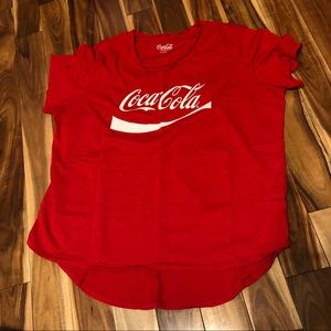 NWOT Coca Cola Red Vintage Style Tee Size 2X